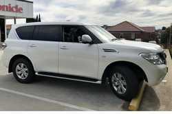 NISSAN Patrol Ti, 2016,  8 cyl,  auto  4WD petrol,  7 seat,  towbar...