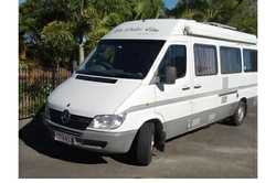 MERCEDES Sprinter 2001 313CDI, show/toil, s/panel 12v frig, m/w, a/c, water tanks, 2 s/beds, secu...