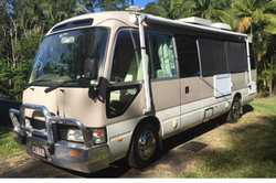 TOYOTA COASTER 2000, 6 cyl 4.2 ltr motor, professional fitout, extra fittings, exceptional cond....