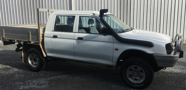4x4, Diesel, Twin Cab, 5 speed, A/C, P/S, Alum Tray, Tow bar, Bull bar. $5450 Gold Coast.