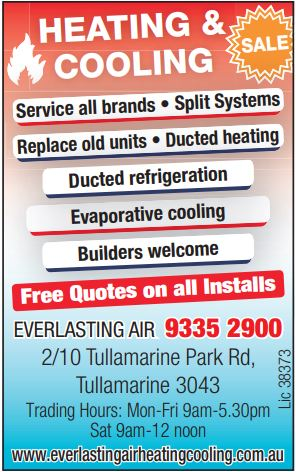 HEATING & COOLING    Service All Brands  Split Systems  Replace Old Units ...