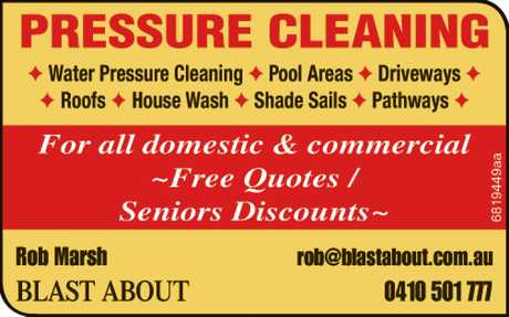 <p> For all domestic & commercial<br /> ~Free Quotes / Seniors Discounts</p>