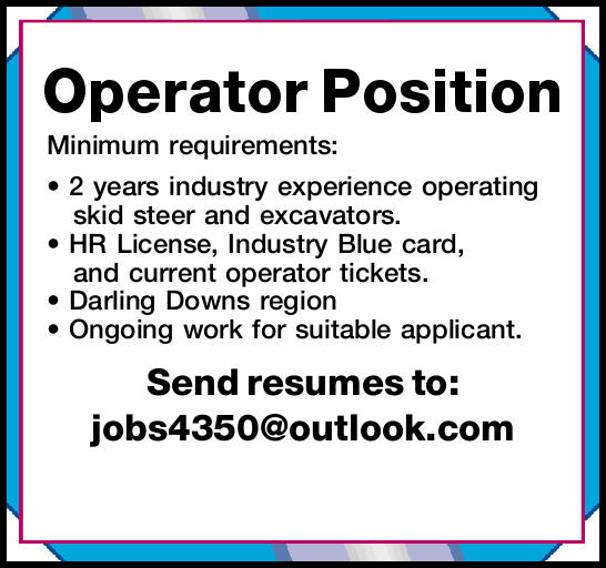 Operator Position