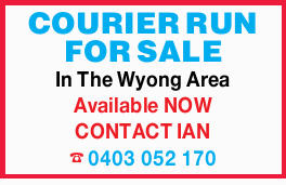 COURIER RUN FOR SALE 