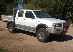 1999 3.2 diesel Navara twincab, 300K, very good condition inside and out, tyres 80%, reg'd...