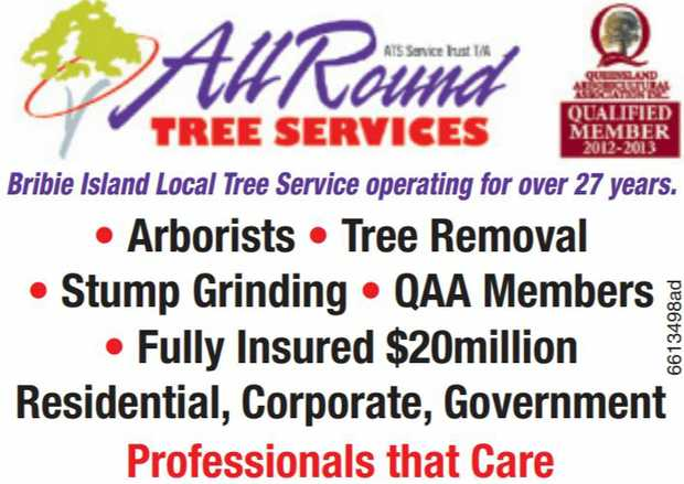 Bribie Island Local Tree Service operating for over 27 years.