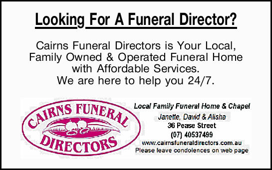 Looking For A Funeral Director?