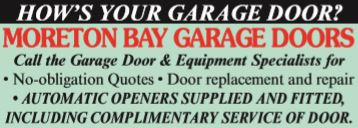 MORETON BAY GARAGE DOORS