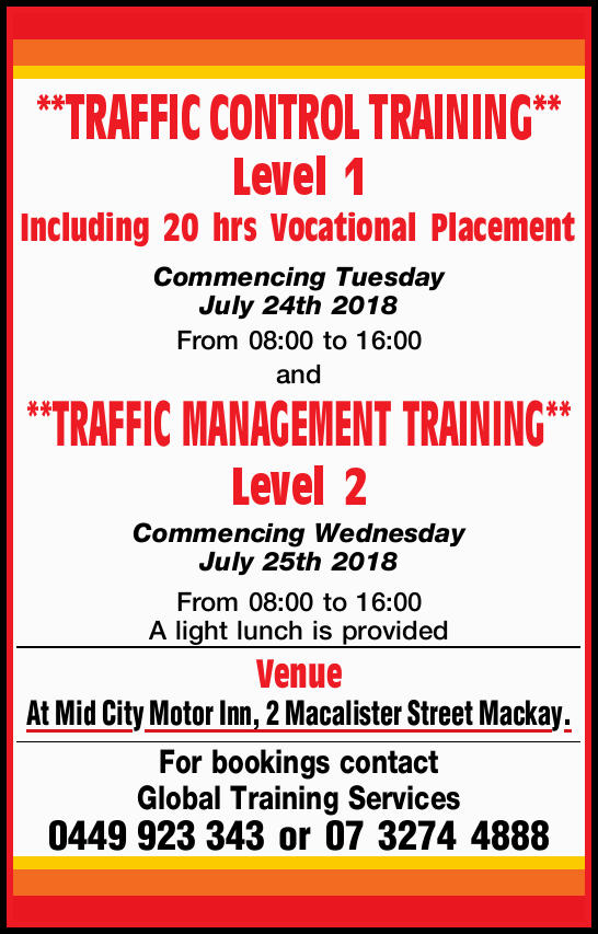 TRAFFIC CONTROL TRAINING & TRAFFIC MANAGEMENT TRAINING