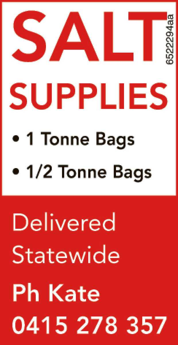 SALT SUPPLIES