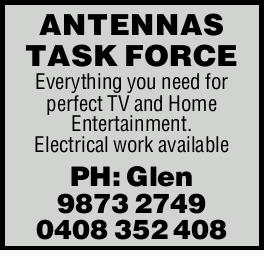 Everything you need for perfect TV and Home Entertainment.