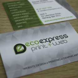 Silk Gloss business cards take your print from simple to stylish. The luxurious feel of this product...