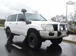 06 Toyota L/Cruiser Wagon 4.2 diesel, HZJ105R series, mech sound, 280,000 klms, RWC, rego 9/18, E...
