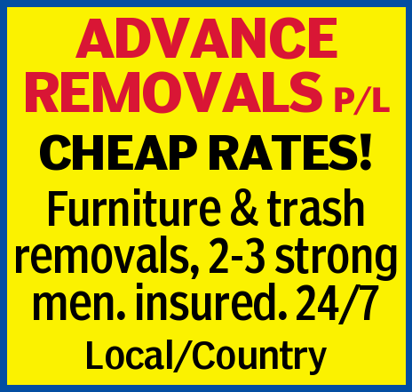 CHEAP RATES!    Furniture & trash removals   2-3 strong men - 24/7   Insured.  ...