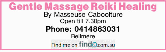 By Masseuse Caboolture Open till 7.30pm