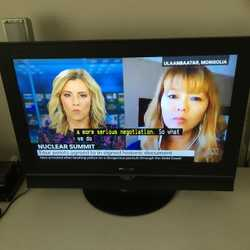 Digital high definition TV, with remote, in good working order. **Note - AV and HDMI inputs NOT WORK...