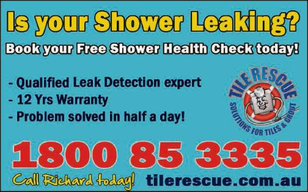 IS YOUR SHOWER LEAKING?
