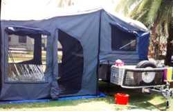 2015 Swagman soft floor, semi off road camper, electric brakes, enclosed annex, QB, ex cond, reg...