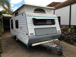 1998 Golf Phantom Limited Edition Pop Top 2 Berth Caravan