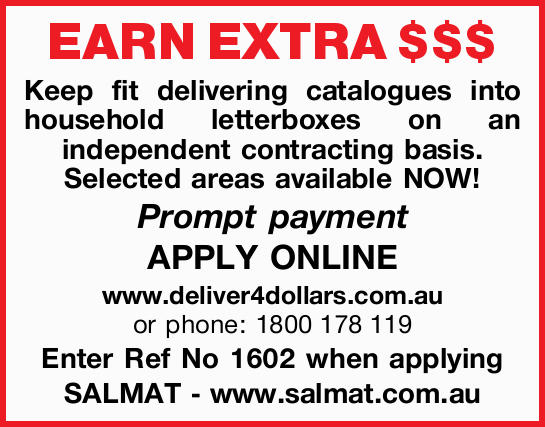 EARN EXTRA $$$