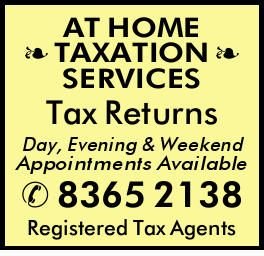 Tax Returns   Day, Evening & Weekend Appointments Available