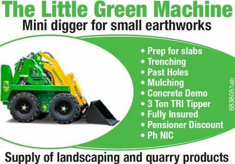 """<p align=""""LEFT"""" dir=""""LTR""""> <span lang=""""EN-AU"""">The Little Green Machine</span> </p>"""