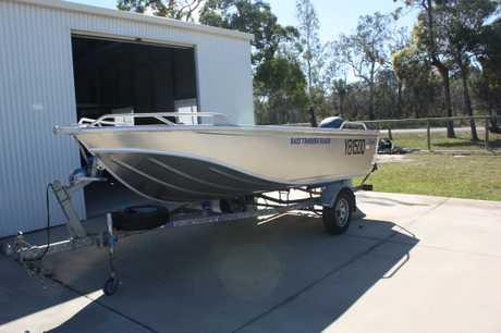 <p> 4.3M Stessco alum dinghy, 30hp 4 stroke o/board, trailer, safety gear, GPS/Sounder, VHF, $10,500.