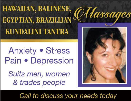 Hawaiian, Balinese, Egyptian, Brazilian, Kundalini &Tantra   Anxiety • Stress •...