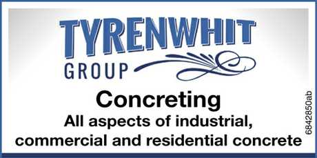 <p> Concreting </p> <p> All aspects of industrial, </p> <p> Commercial and residential...</p>