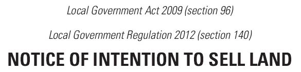 Local Government Act 2009 (section 96)