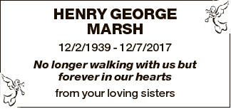 HENRY GEORGE MARSH