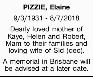 PIZZIE, Elaine