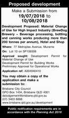 Proposed development Application ref:A004940410