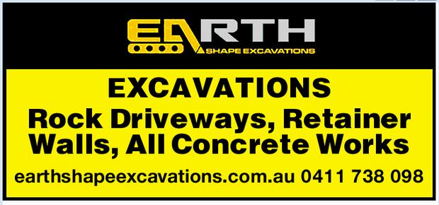 Excavations Retainer Walls ,   House Slab,   Drilling 2-3 Metres    earthshapeexcavat...