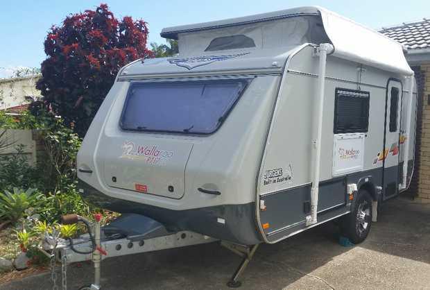 Jurgen Wallaroo   2016 Poptop Semi Off Road,   2 Single Beds excellent cond, Redcliffe. ...