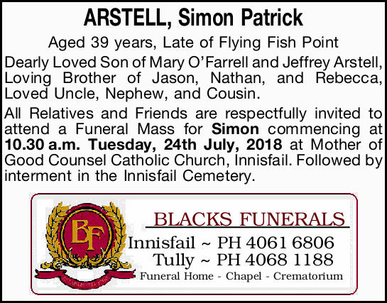 ARSTELL, Simon Patrick