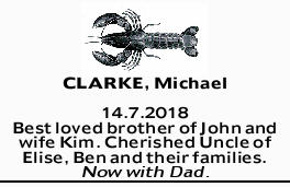 CLARKE, Michael