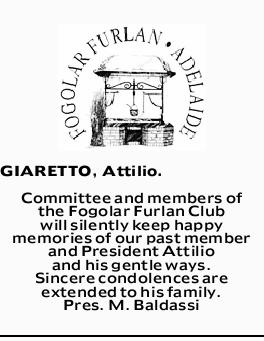 GIARETTO, Attilio. 