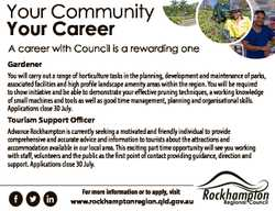 Your Community Your Career A career with Council is a rewarding one Gardener You will carry out a ra...