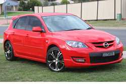 MAZDA 3 MPS, 2008 2.3L turbo manual, 192kms, full service history, A/c power windows, registered...