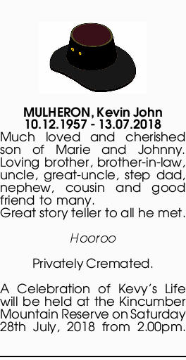 MULHERON, Kevin John 