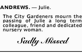 ANDREWS. _ Julie.