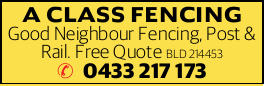 Good Neighbour Fencing, Post & Rail.   Free Quote