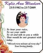 Kylie Ann Windsor