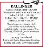 DALLINGER