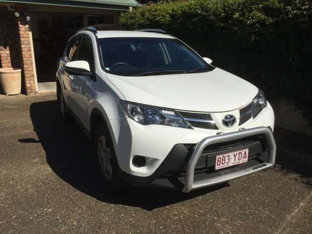 TOYOTA RAV 4 TURBO Diesel awd 64,000klms, White. New tyres, Nudge bar, tw bar, RWC, Rego to Jan 2...