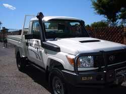 Air, B/bar, d/tanks, p/c b/bar, p/s, snorkel, h/duty steel tray, turbo, winch, 3900 GVM,