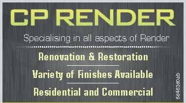 CR RENDER   Specialising in all aspects of Render   Renovation & Restoration   Va...