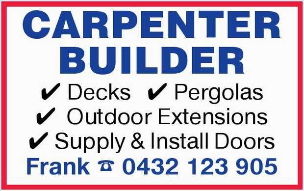 Decks   Pergolas   Outdoor Extensions   Supply &Install Doors   Call Fr...