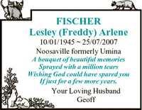 10/01/1945 25/07/2007   Noosaville formerly Umina   A bouquet of beautiful...